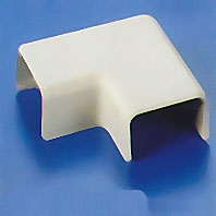 HellermannTyton TSR2-25 Elbow Cover for TSR2 Surface Raceway